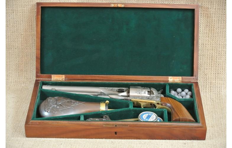 """ VERKAUFT "" Gravierter Perkussions-Revolver, Centaure Centennial 1960 New Model Army, Kal .44"