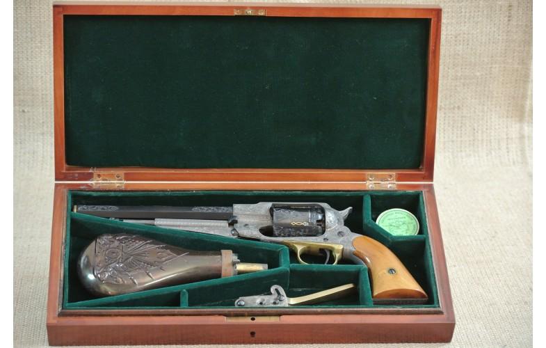 Gravierter Perkussions-Revolver, Rigarmi 1858 New Model Army, Kal .44