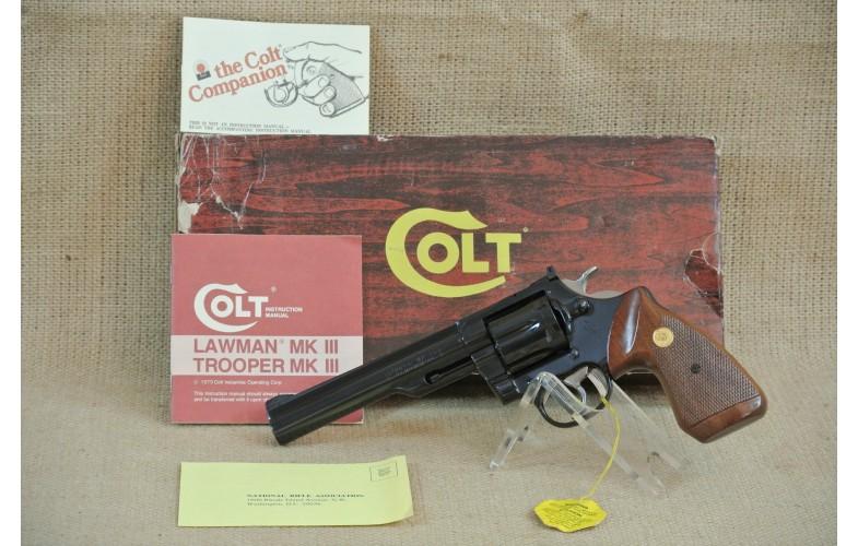 Revolver Colt Mod. Trooper MK III,  Kal.  .357 Magnum