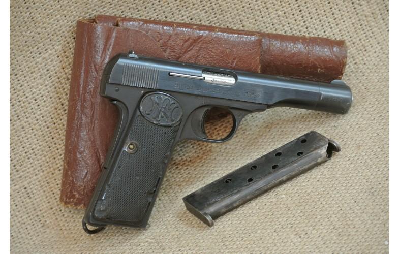 Halbautomatische Pistole, FN 1910/22 Serbien,  Kal. 9 mm kurz.