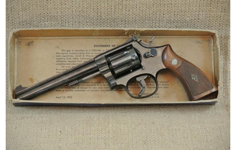 Revolver Smith & Wesson Mod. 17, Masterpiece, Kal.  .22 lr.