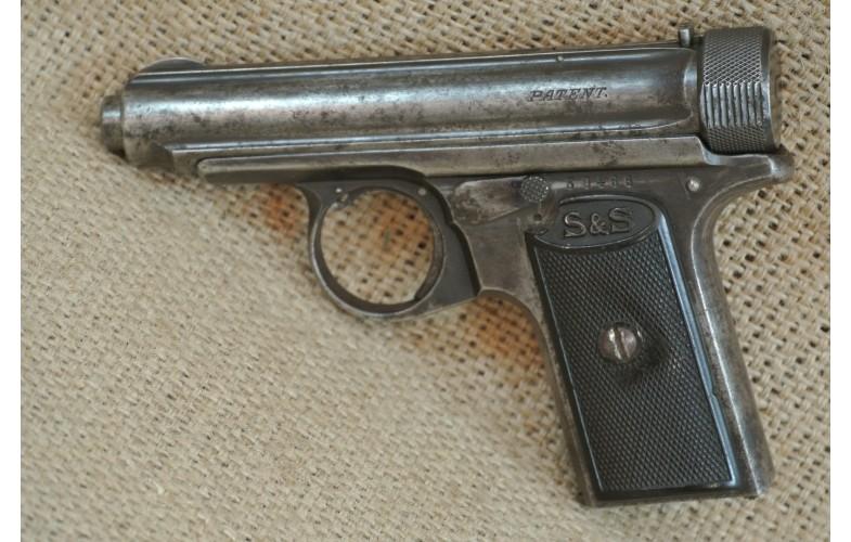 Halbautomatische Pistole, Sauer & Sohn, Mod. 1913, Kal. 7,65 Browning.
