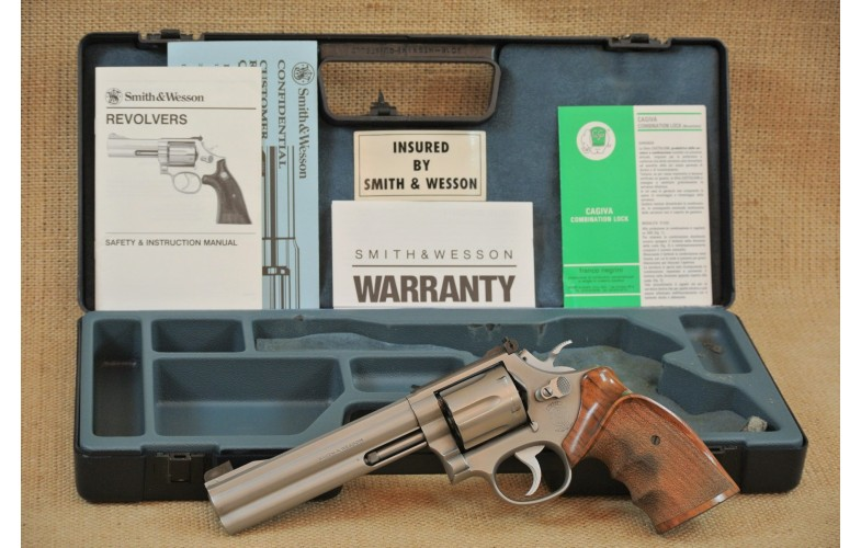 Smith & Wesson Mod. 686 Target Champion, 6 Zoll Lauf, Kal. .357 Magn.