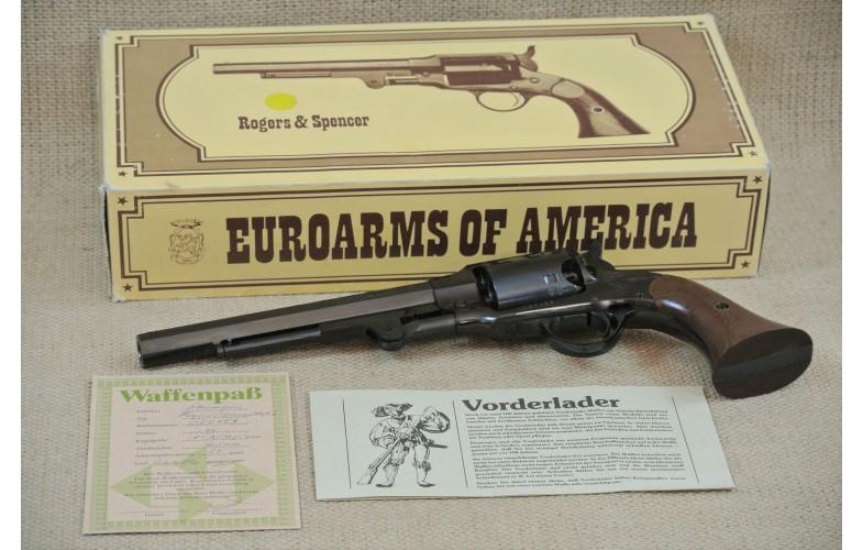 """"""" VERKAUFT """" Euroarms Perkussions-Revolver, Roger & Spencer,  Kal .44"""