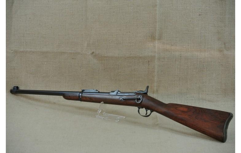 """"""" VERKAUFT """" Einzelladerbüchse, Springfield Trapdoor Carbine, Mod. 1878, Kal.  45-70."""
