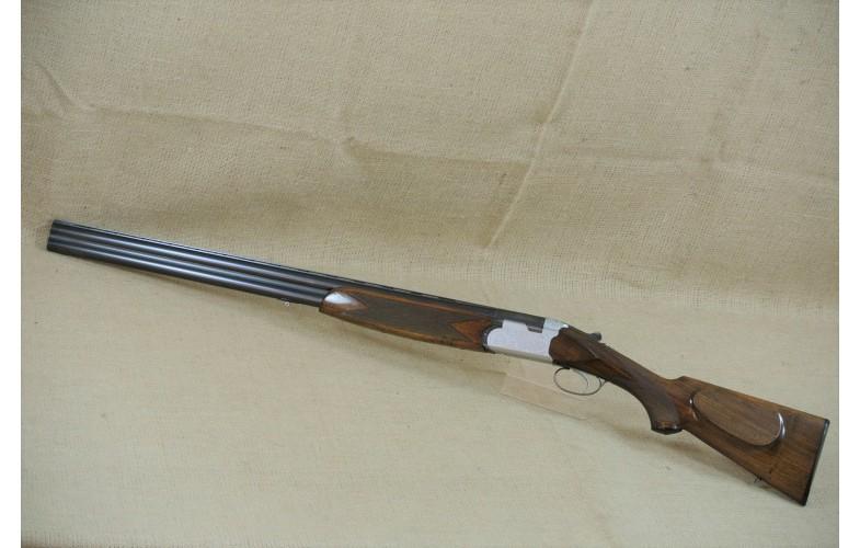 Bockdoppelflinte, Sauer - Beretta, Kal. 12/70.