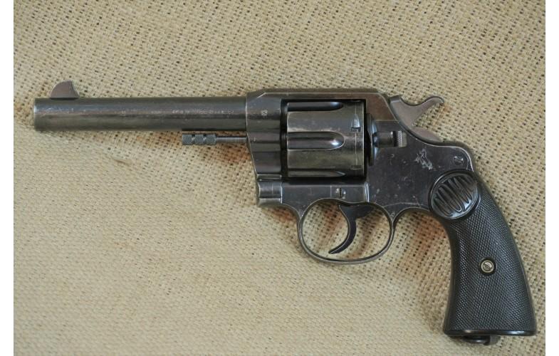 Revolver, Colt Mod. New Service, 4 Zoll Lauf , Kal. .455.