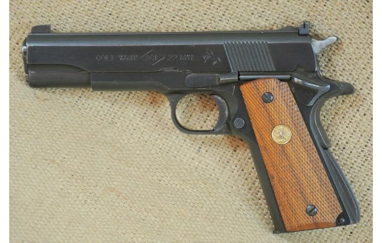 """ VERKAUFT "" Halbautomatische Pistole Colt Mod. ACE (1911), Kal. .22lr."