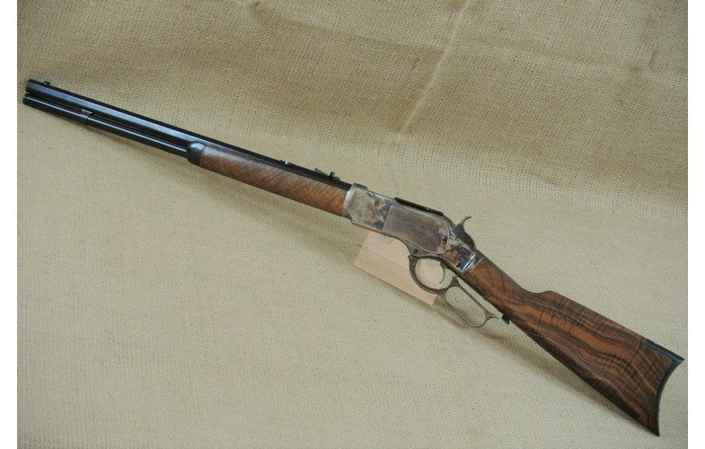 Unterhebelrepetier-Büchse Uberti,  Winchester Mod. 1873 Short Rifle, Kal. .44-40 Hege Gold Tuning