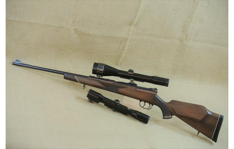 Repetierbüchse, Mauser  Mod. 66, Kal. .30-06 Spring. mit 2 Zielfernrohren
