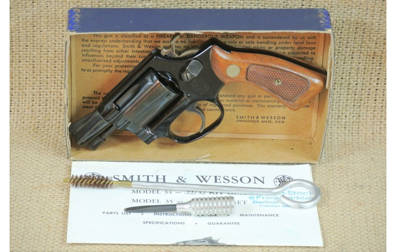 Revolver, Smith & Wesson, Mod. 37, Airweight,  2 Zoll, Kal. .38 Spl.