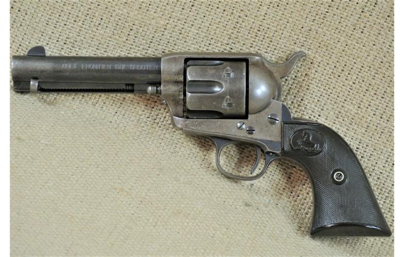 """ VERKAUFT "" Revolver, Colt Mod. 1873 Frontier Sixshooter,  4 3/4 Zoll Lauf , Kal. .44-40, Baujahr 1895"