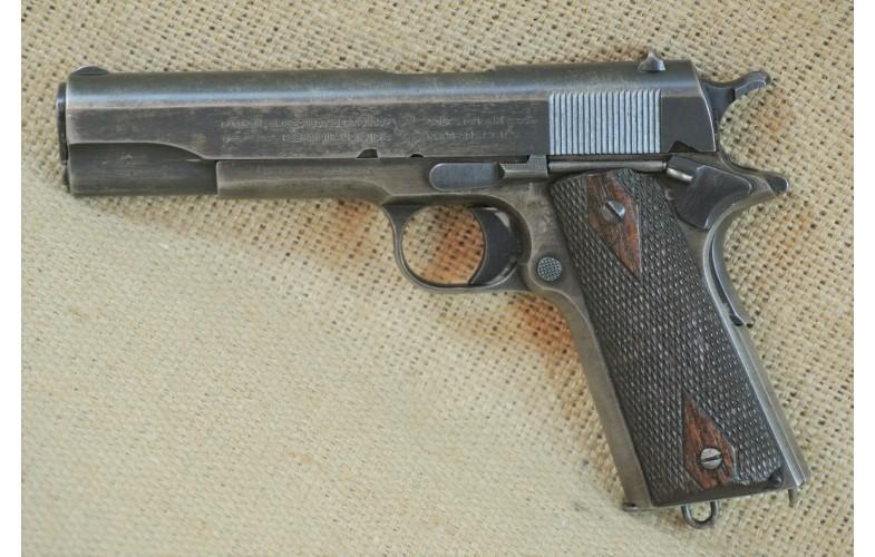 """"""" VERKAUFT """" Halbautomatische Pistole, Colt Mod. 1911 Military, Kal. .45, Auto Baujahr 1918"""