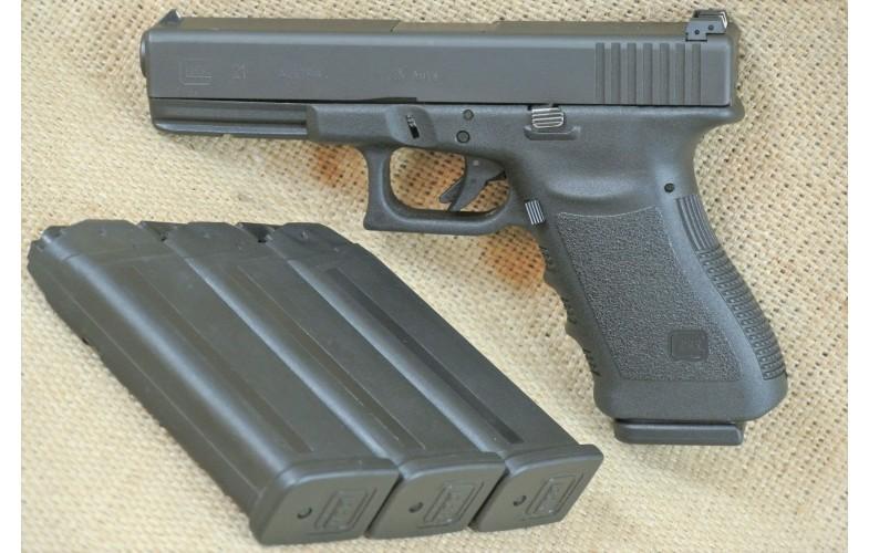 Halbautomatische Pistole, Glock 21, Kal. .45Auto.