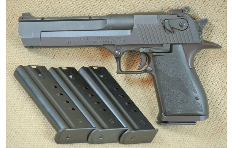 """ VERKAUFT "" Halbautomatische Pistole, Israel Military Industries (IMI), Mod. Desert Eagle, Kal. .50AE."
