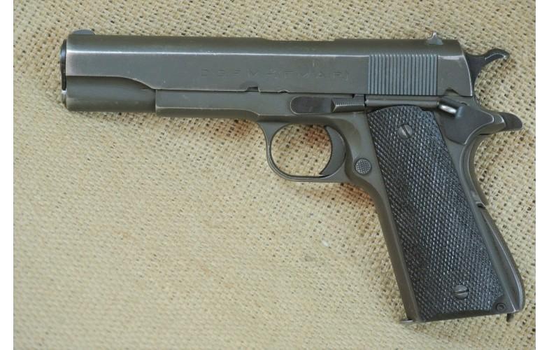 """"""" VERKAUFT """" Halbautomatische Pistole D.G.F.M. - (F.M.A.P) Mod. 1927 (1911) Luftwaffe, Kal. .45 Auto"""