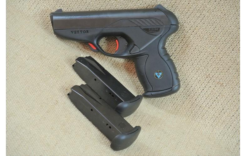 """ VERKAUFT "" Halbautomatische Pistole, Vector, Mod. CP1, Kal. 9mm Luger"