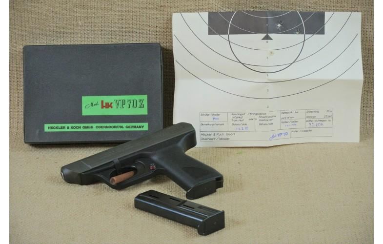 """ VERKAUFT "" Halbautomatische Pistole, Heckler & Koch Model VP 70 Z, Kal. 9mm Luger."