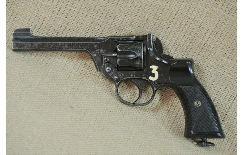 Kipplauf-Revolver, Enfield 1941,  Kal. .38 S&W