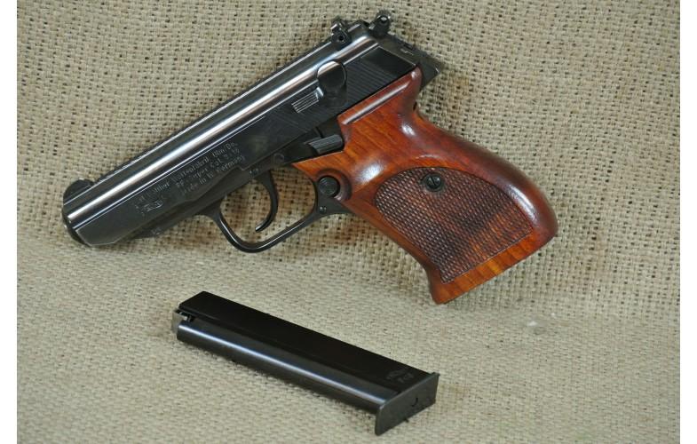 """ VERKAUFT"" Halbautomatische Pistole, Walther Mod. PP-Super, Kal. 9 x 18."