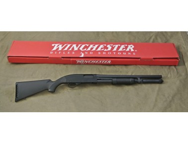 Vorderschaftrepetierflinte, Winchester Mod. 1300 Defender, Kal. 12/76.