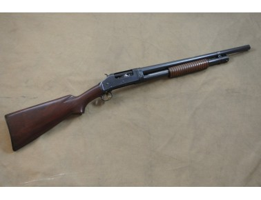 !! VERKAUFT !! Vorderschaftrepetierflinte, Winchester Mod. 1897, Riot Gun, Take Down, Kal. 12/70.