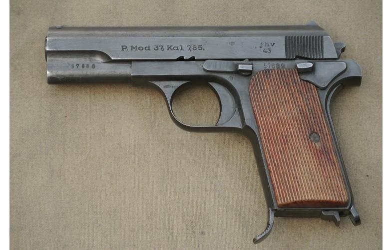 Halbautomatische Pistole, Femaru Mod. 37, Kal. 7,65mm Browning.