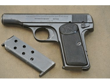 Halbautomatische Pistole, FN 1910, Kal. 7,65 mm.