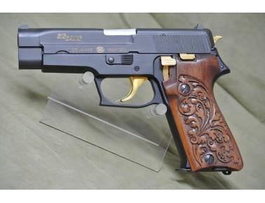 Halbautomatische Pistole, Sig Sauer P 220,  Jubileumsmodell 125 Jahre , Kal. 9 mm Luger.