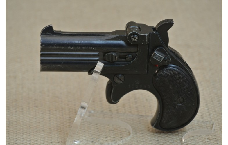 doppelläufige Pistole, Derringer, Röhm, Kal. .38 Spezial