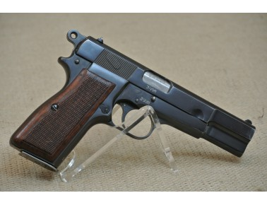 Halbautomatische Pistole, FN High Power, M 1950 LGK. N.Ö. 0727, Kal. 9mm Luger