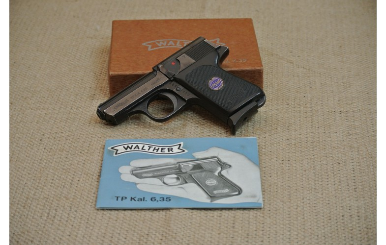 Halbautomatische Pistole, Walther TP, Kal. 6,35 mm Browning