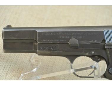Halbautomatische Pistole, FN High Power M 1946, Armee Dänemark, Kal. 9mm Luger