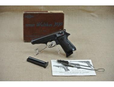 Halbautomatische Pistole, (Manurhin) Walther PP, Kal. .22lr.