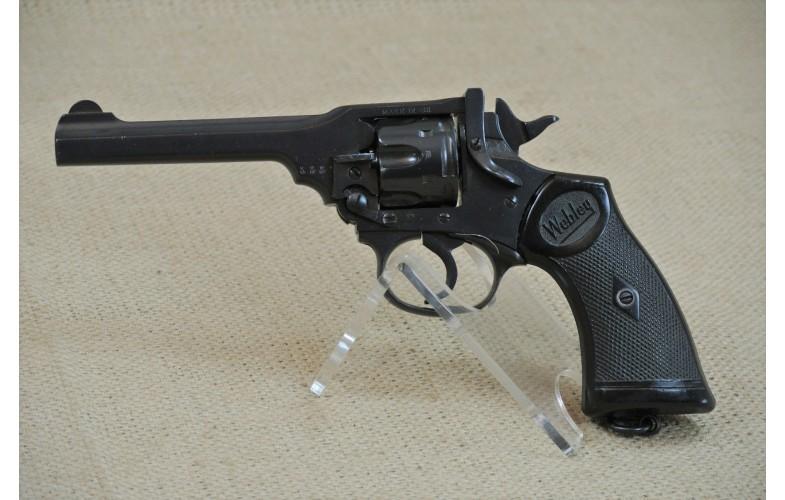Kipplauf-Revolver, Webley  MK IV,  Kal. .38 S&W