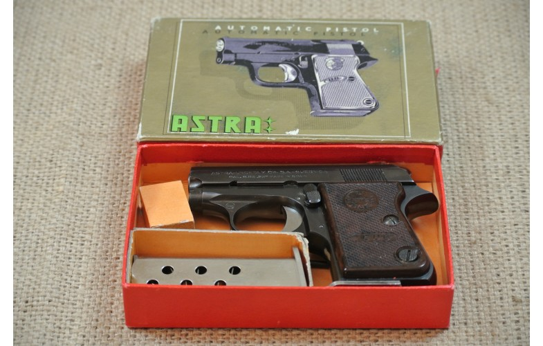 Halbautomatische Pistole, Astra Cup Mod. 2000, Kal. 6,35 Browning.