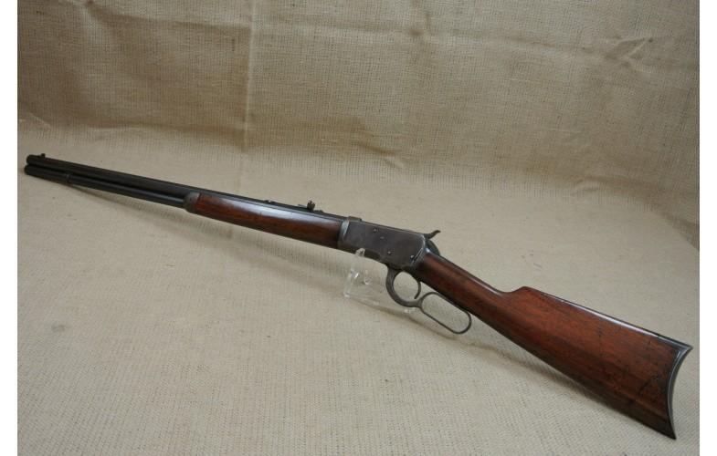 Unterhebelrepetierbüchse, original Winchester Mod. 1892, Kal. .38 WCF.