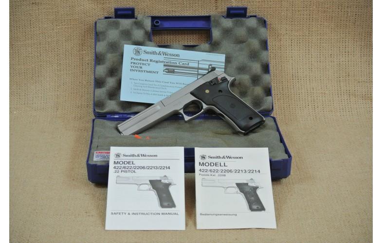 """"""" VERKAUFT """" Halbautomatische Pistole Smith & Wesson Mod. 2206, Kal. .22lr"""