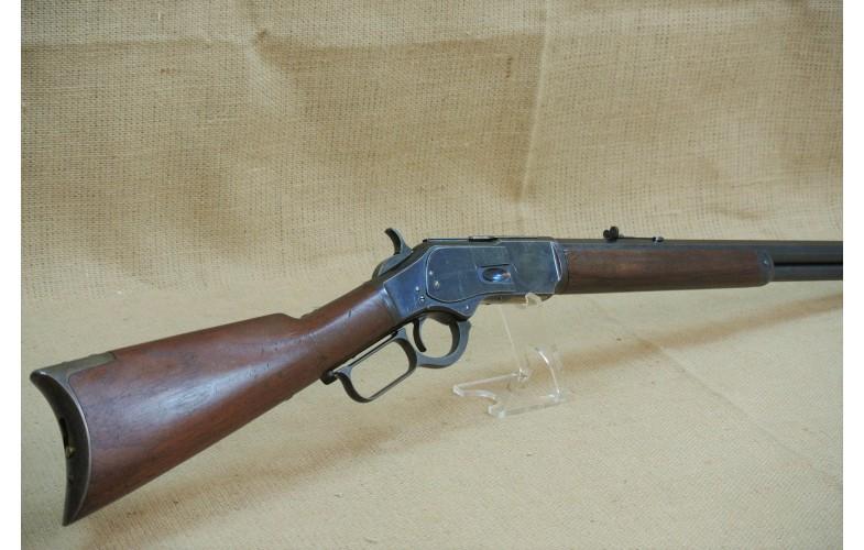 Unterhebelrepetierbüchse, original Winchester Mod. 1873, 2nd Model, Kal. .44 WCF, Baujahr 1879