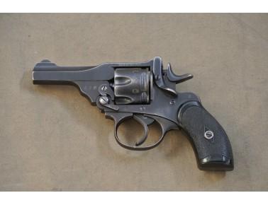 !! VERKAUFT !! Kipplauf-Revolver, Webley MK III , Kal. .380.